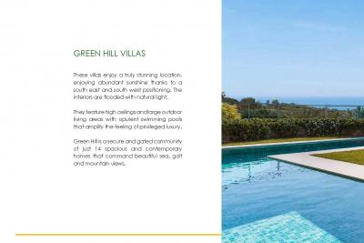GREEN HILL VILLAS 14 luxury villas with amazing sea and ...